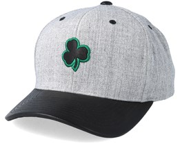 Boston Celtics Vintage Top Shelf Curve Grey Adjustable - Mitchell & Ness