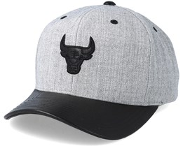Chicago Bulls Vintage Top Shelf Curve 2 Grey Adjustable - Mitchell & Ness