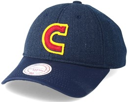 Cleveland Cavaliers Ball Game Denim Low Profile Adjustable - Mitchell & Ness