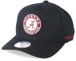 Alabama Crimson Tide Eazy Black 110 Adjustable - Mitchell & Ness