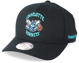 Charlotte Hornets Eazy Black 110 Adjustable - Mitchell & Ness