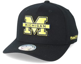 University of Michigan Eazy Black 110 Adjustable - Mitchell & Ness