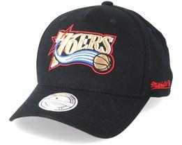 Philadelphia 76ers Eazy Black 110 Adjustable - Mitchell & Ness