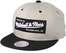 Box Logo Oyster Snapback - Mitchell & Ness