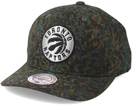Toronto Raptors Abstract Camo Adjustable - Mitchell & Ness
