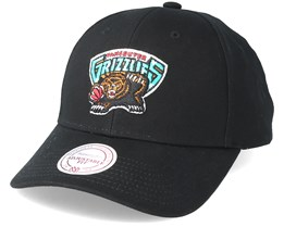 Vancouver Grizzlies Team Logo Low Profile Black Snapback - Mitchell & Ness