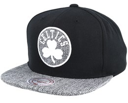 Boston Celtics Woven Tc Black Snapback - Mitchell & Ness