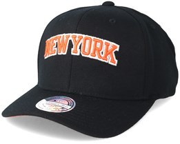 New York Knicks Courtside 2 110 Black Adjustable - Mitchell & Ness