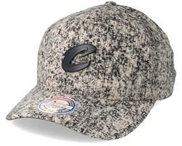 Cleveland Cavaliers Khaki/Black Corrosive Adjustable - Mitchell & Ness