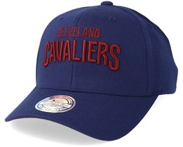 Cleveland Cavaliers Courtside 2 Navy 110 Adjustable - Mitchell & Ness