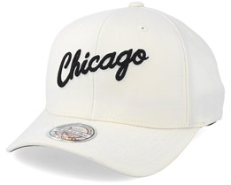 Chicago Bulls Courtside 2 Cream 110 Adjustable - Mitchell & Ness