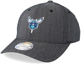 Brooklyn Nets Heringbone Grey 110 Adjustable - Mitchell & Ness