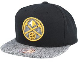 Denver Nuggets Woven Tc Black Snapback - Mitchell & Ness