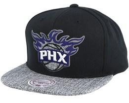 Phoenix Suns Woven Tc Black Snapback - Mitchell & Ness