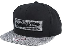Own Brand Woven Tc Black Snapback - Mitchell & Ness