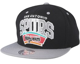 San Antonio Spurs Team Arch Black Snapback - Mitchell & Ness