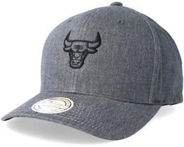 Chicago Bulls Haze Grey Adjustable - Mitchell & Ness