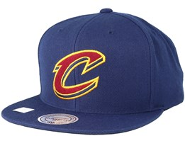 Cleveland Cavaliers Under Visor Navy Snapback - Mitchell & Ness