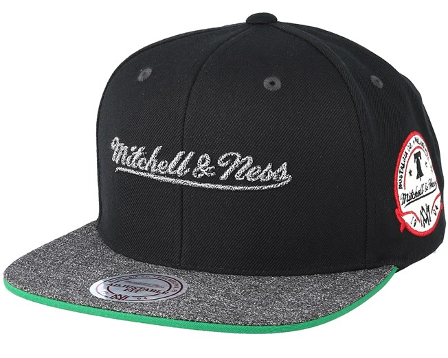 Own Brand Melange Patch Black Snapback - Mitchell   Ness caps ... a6e3f313decc