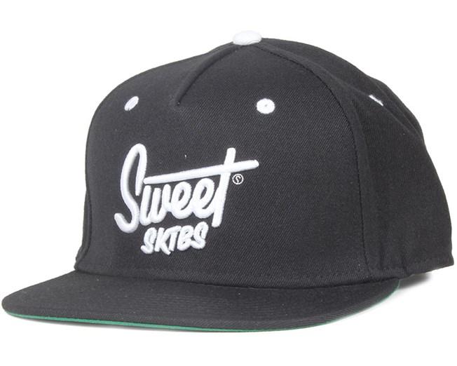 Script Black Strapback - Sweet