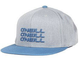 Stacked Silver Melee Snapback - O'Neill