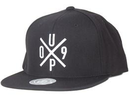 UP09 Black Snapback - Upfront