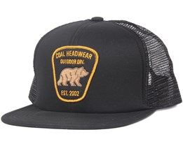 The Bureau Black Snapback - Coal