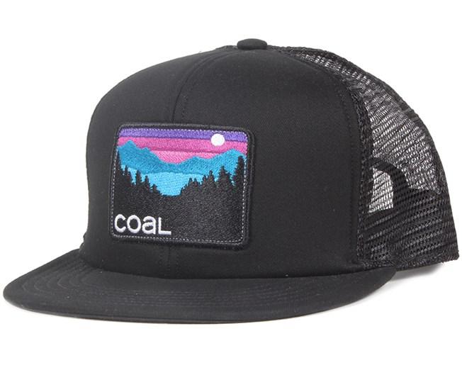 The Hauler Black Snapback - Coal