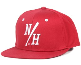 Batter Red Snapback - Northern Hooligans