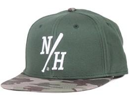 Batter Green/Camo Snapback - Northern Hooligans