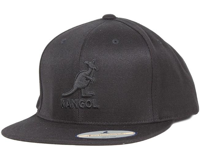 Championship Links Black/Black Snapback - Kangol