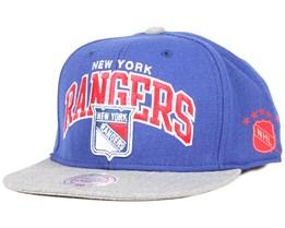 NY Rangers Forward Line Snapback - Mitchell & Ness