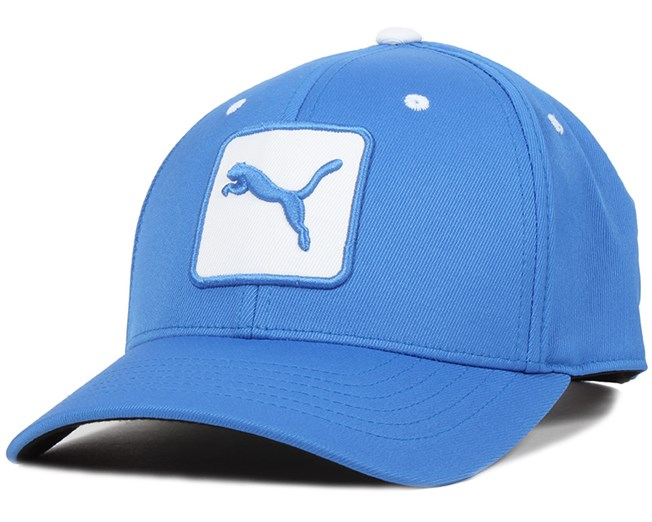 Cat Patch Strong Blue/White Adjustable - Puma