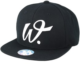 Fulton Street Black Snapback - State Of Wow