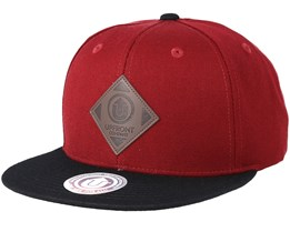 Offspring Burgundy/Black Snapback - Upfront