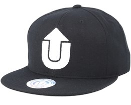 Logo Black/White Snapback - Upfront