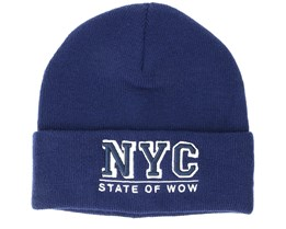 Kids Toronto Junior Fold Dark Navy Beanie - Upfront