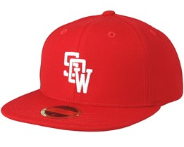 Kids Drop Red Snapback - State Of Wow