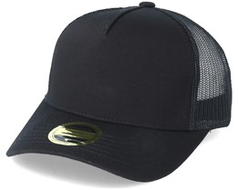 Kids Air Youth Baseball Black Trucker - State Of Wow