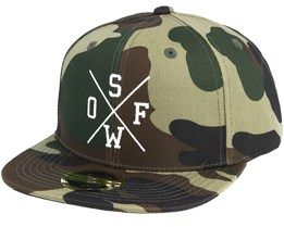 Kids Rexdale 3 Youth Camo Snapback - State Of Wow