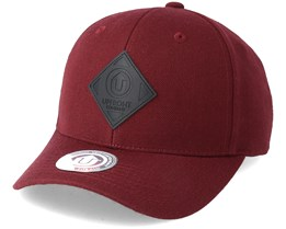 Off Spring Baseball Bordeaux/Black Snapback - Upfront