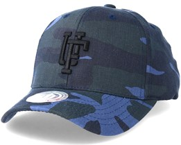 Ambush Baseball Cap Dark Navy/Black Camo Adjustable - Upfront