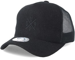 Up09 Baseball Black/Black Trucker - Upfront