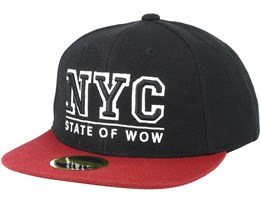 Kids Toronto 2 Bordeaux/Black Snapback - State Of Wow