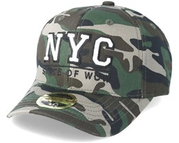 Kids NYC Youth Baseball Camo Adjustable - State Of Wow
