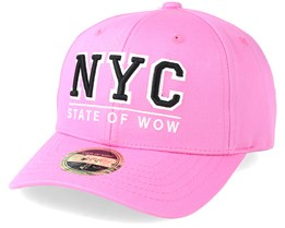 Kids NYC Youth Baseball Pink Adjustable - State Of Wow