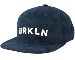 Brkln Dark Navy Snapback - Upfront