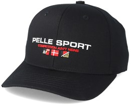 Vintage Series Dad Cap Black Adjustable - Pelle Pelle