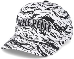 Jungle Tactics Curved White/Black Adjustable - Pelle Pelle