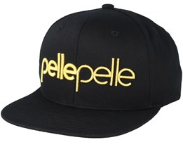 Recognize Black Snapback - Pelle Pelle